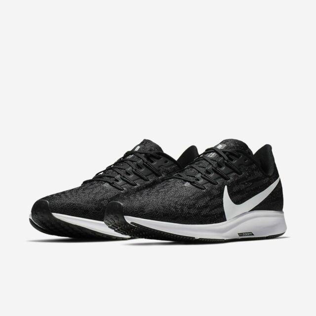 Nike Air Zoom Pegasus 36 Running Shoes Black White Gray AQ2203 002 Men's NEW