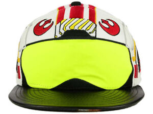 New Era Star Wars Luke Skywalker X-Wing Pilot 59FIFTY Disney Hat Cap ... 4d09abbd32b4