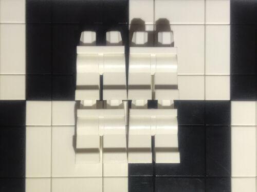 Bundle Spare Parts Joblot Bulk Lego Plain White Minifigure Legs x 4