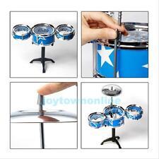Xmas GIFT Child Kids Jazz Drum Rock Set Kit Instruments Music Educational Toy