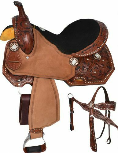 Double T  barrel style saddle  set 15 , 16   hottest new styles