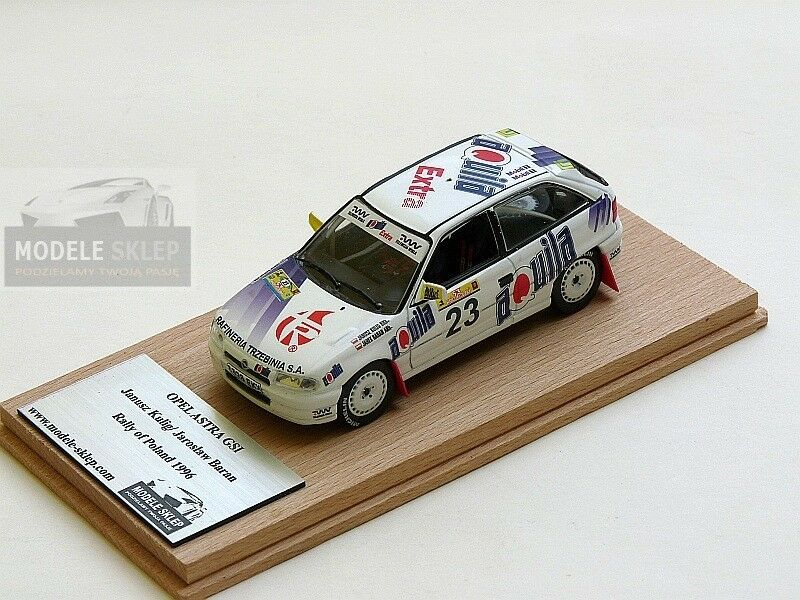 Opel Astra GSi Janusz Kulig RALLY of POLAND 1996  1 43 Code 3  grandes marques vendent pas cher