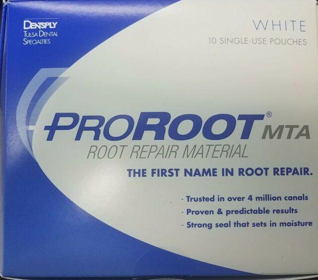 Pro Root ProRoot MTA Root Canal Repair Material White DENTSPLY Tulsa 10  Treatmen