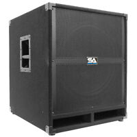 Seismic Audio 18 Pa Powered Subwoofer Speaker Active on sale