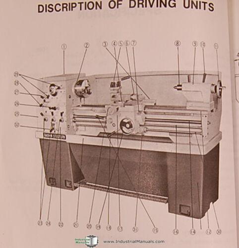 Hipromac 1440 Dashin Studturn 750 and 1000 Lathe Manual