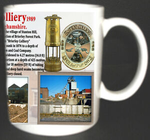SUTTON-COLLIERY-COAL-MINE-MUG-LIMITED-EDITION-GIFT-MINER-NOTTINGHAMSHIRE-PIT