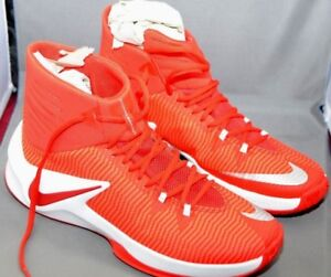 65f22329cd22 Nike Men s Zoom Clear Out TB - New Red Basketball Shoes 844372 666 ...