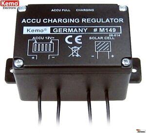 Solar-Laderegler-Uberladeschutz-fuer-Solarzellen-bis-max-72W-6A-12V-KEMO-M149