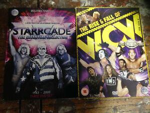 WWF-WWE-WCW-DVD-Wrestling-DVD-Bundle-STARRCADE-Collection-Rise-Fall-WCW