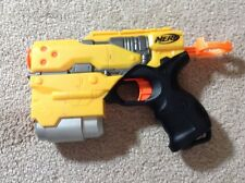 Nerf Dart Tag Quick 4 Dart Gun / Blaster Yellow And Black