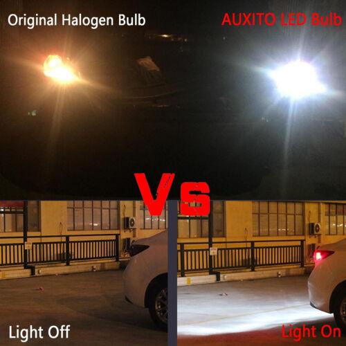 AUXITO Canbus 6000k White 921 912 T15 Backup Reverse LED Light 2x Bulbs 2200LM