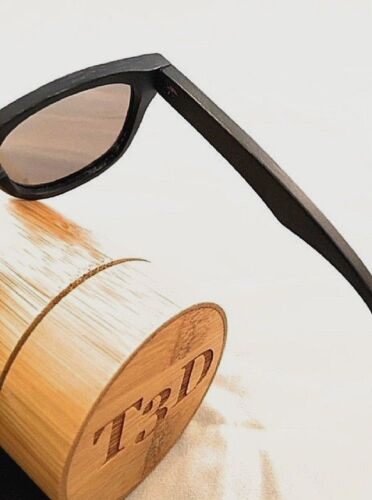 Collection T3d Sunglasses Vintage Polarized Bamboo Sunglasseswooden von Surf 7BxFO