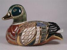 De Rosa Rinconada Emerald Collection Duck Figurine  # 1003 - Colorful NIB!