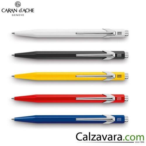Grigia Grey Caran d/'Ache 849 Sfera a Scatto Classic Ballpoint Pen