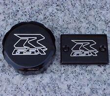 Suzuki GSXR600 GSXR750 GSXR1000 GSXR 600 750 1000 BLACK BILLET FLUID CAPS