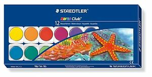 Staedtler-Noris-Club-Watercolours-Paint-Box-Set