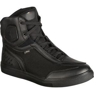Dainese-Street-Darker-GTX-Waterproof-Motorcycle-Boots-Black-Size-9-US-42-EU