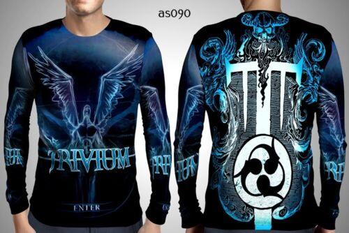 Trivium Men/'s Long Sleeve Art 04 Fullprint Sublimation Size S-3XL