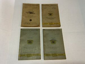 Antique Original OHIO BELL TELEPHONE DIRECTORY Book April 1910 Used Yellowed