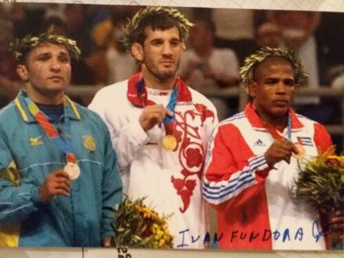 Ivan  Fundora    Cuba     Olympiadritter   2004   im   Ringen