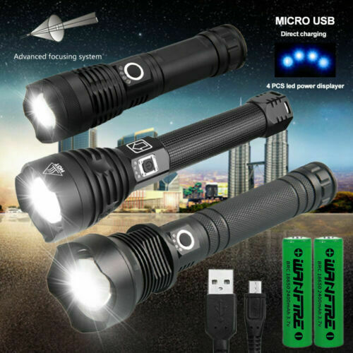 120000 lumens XHP70.2 XHP90.2 most powerful led flashlight usb Zoom torch XHP50