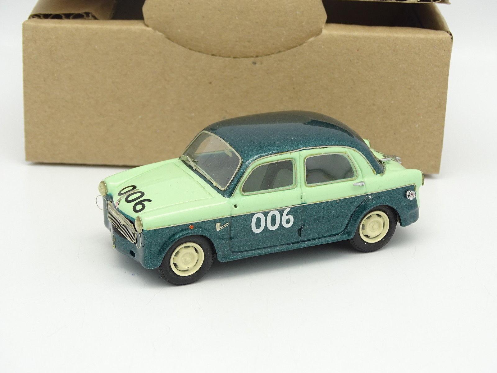 Förlaga IV Factory Kit Mont 65533;65533; SB 1  43 Fiat 1100 MILLE MIGLIA 1957 N 006 WINER