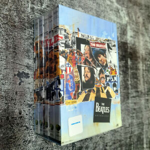 The-Beatles-Anthology-5-DVD-Gift-Box-Set-Brand-New-Fast-shipping-Ships-1st-Class