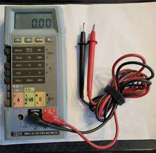 Vintage Ibm Fluke 8060a Digital Multimeter With Leads