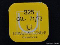 Vintage Universal Geneve Cal 71-72 Incabloc Unit Part 325
