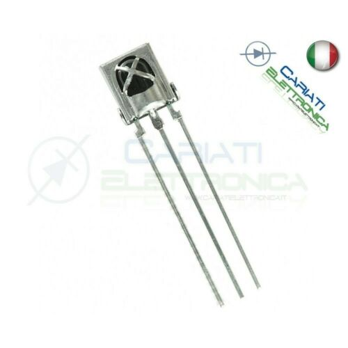 2 Pezzi 38Khz Universal IR Infrared Receiver TL1838 VS1838B arduino compatibile