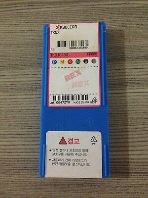 10PCS//Box   Kyocera CNC Blade TKN3 PR660