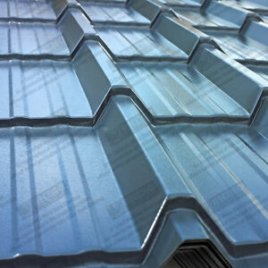 Metal Roofing Sheets Tile Effect Pvc Coated Steel Roof