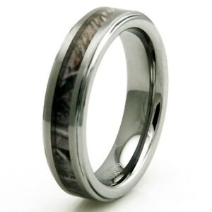 Tungsten-Carbide-Forest-Woods-Hunting-Camouflage-Wedding-Band-Ring-5MM