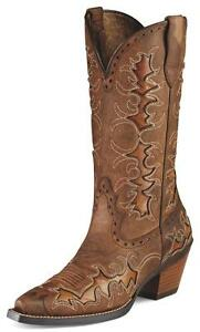 Ariat Womens Brown Boots Dandy Sassy