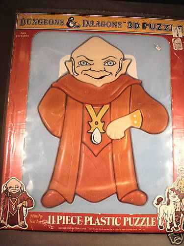 84 Dungeons & Dragons 3D Puzzle Tv-Show Dungeon Master
