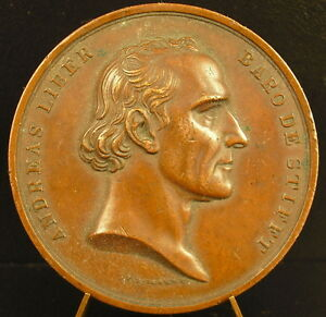 Medaille-ANdreas-Liber-1834-Autriche-Ostereich-lavream-semisecularem-Boehm-medal