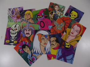 Vintage-He-Man-Masters-of-the-Universe-custom-animation-trading-card-set-mattel