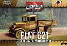 First to Fight 017 Polish Fiat 621L with AA machine gun 1/72