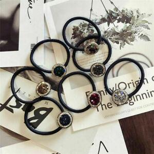 Hair-Ring-Women-Elastic-Crystal-Hair-Rope-Band-Rubber-Ponytail-Holder-Scrunchies