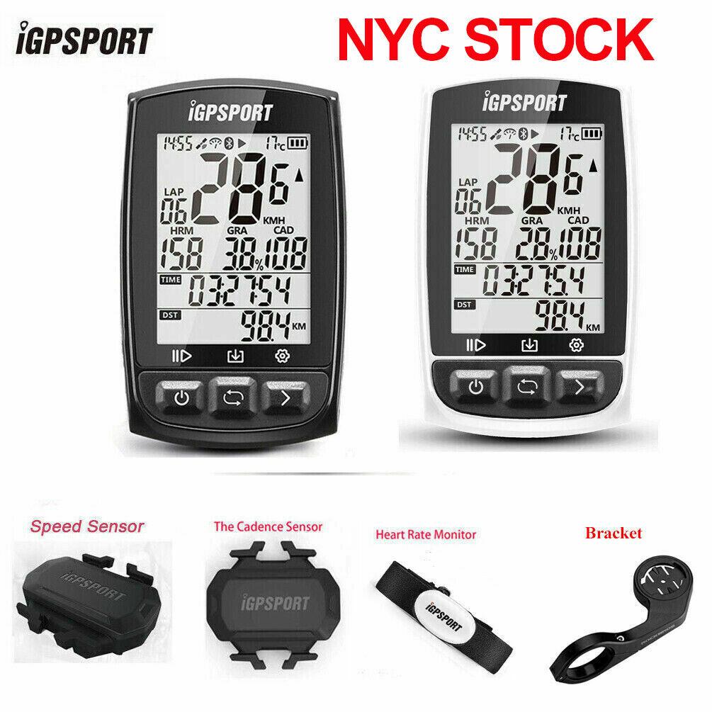 Waterproof IPX7 IGS50 IGPSPORT Cycling Big Screen GPS Wireless Computer Ant