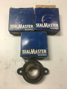 SEALMASTER-LFT-23-BALL-BEARING-FLANGE-UNIT-1-1-16-3-PACK-NEW-FREE-SHIPPING