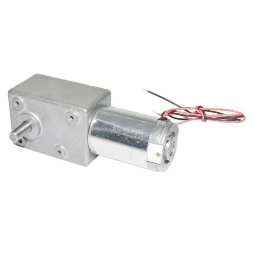 DC 12V 24V Electric Bicycle Worm Gear Motor with Biaxial for BBQ Parts 1/&2 Axis