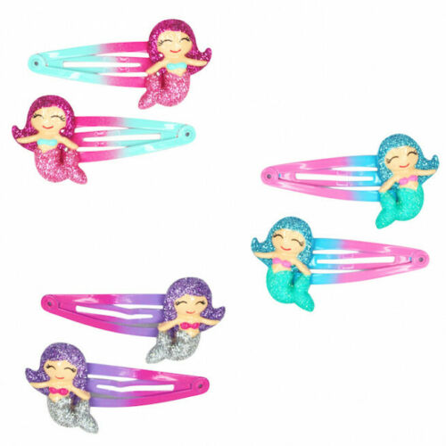 Mystic Mermaid Hair Clips Childrens by Pink Poppy set of two