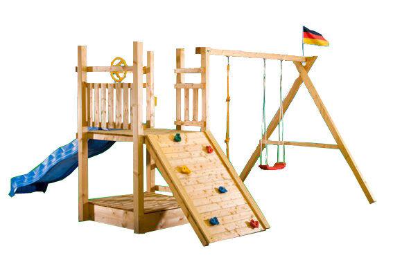 Spielturm Frizzy Kletterturm Kletterhaus Kletterhaus Kletterhaus Rutsche Schaukel Baumhaus Spielhaus dcaa3b