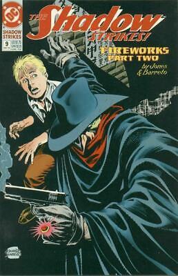 The Shadow Strikes #9 May 1990 DC Comics