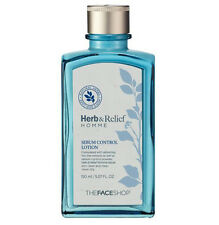 [The Face Shop] Herb & Relief Homme Sebum Control Lotion 150ml