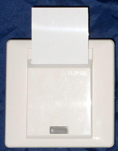 5 Spare Blank Plastic Key Cards for Clipsal E2031EKT KeyCard Switch ~ FIVE CARDS