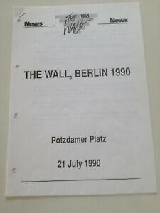 ROGER-WATERS-The-Wall-Berlin-1990-SPAIN-PROM0-PRESS-SHEET-PINK-FLOYD