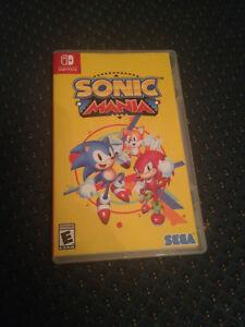 Sonic Mania Nintendo Switch Personalizado Funda Con Manga De Arte