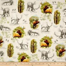 Quilting Treasures Bear Country by Cynthie Fisher 23975 A Bronze  Cotton Fabric